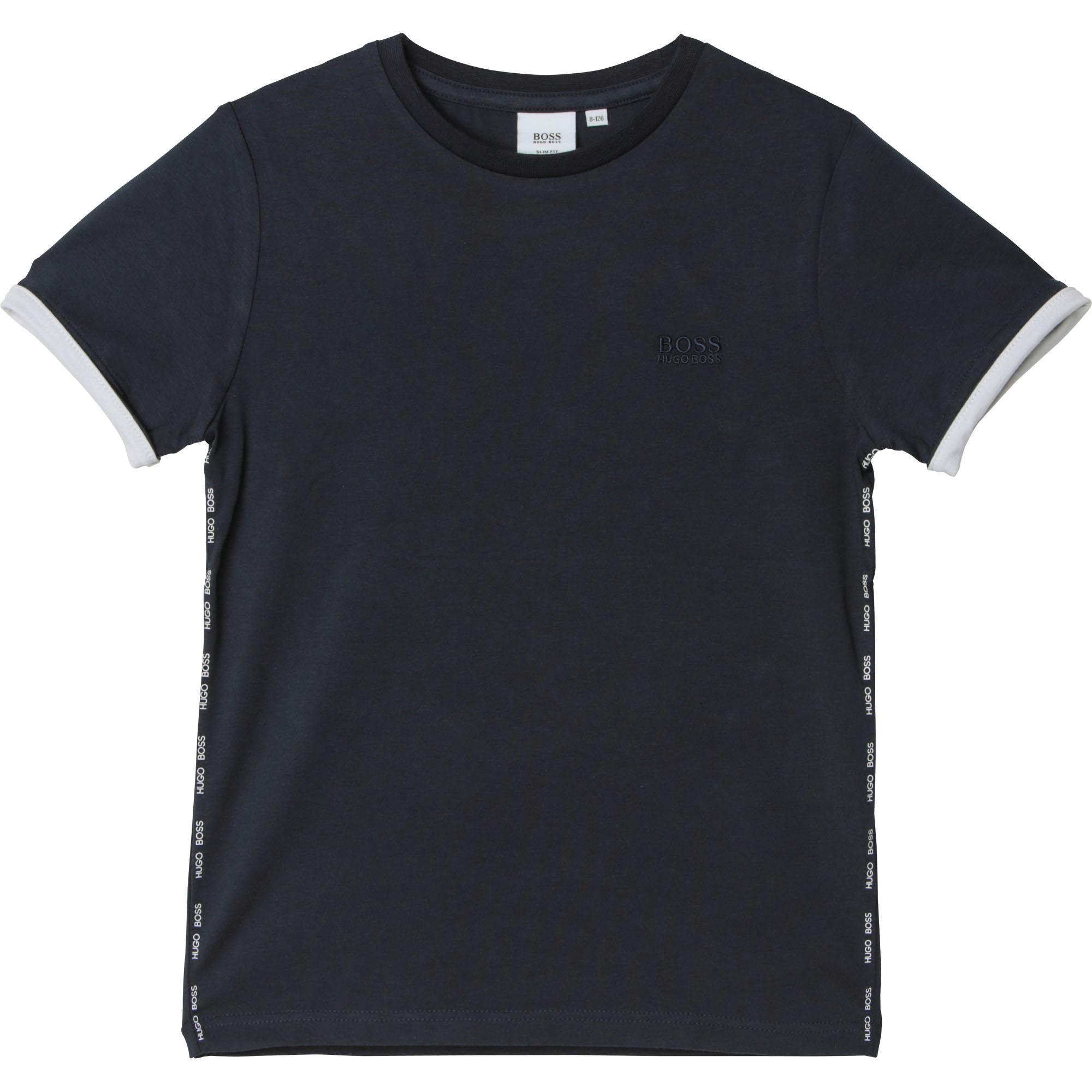 Camiseta Niño HUGO BOSS Marino