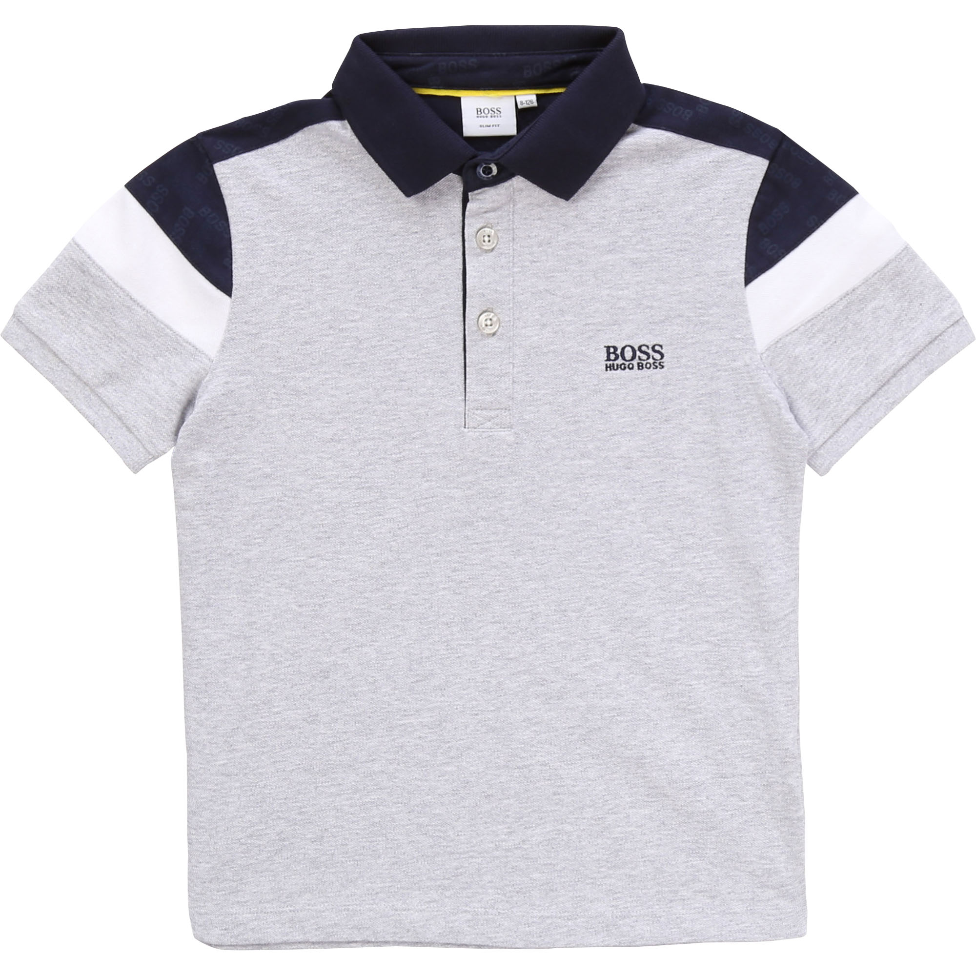Polo Niño HUGO BOSS Gris