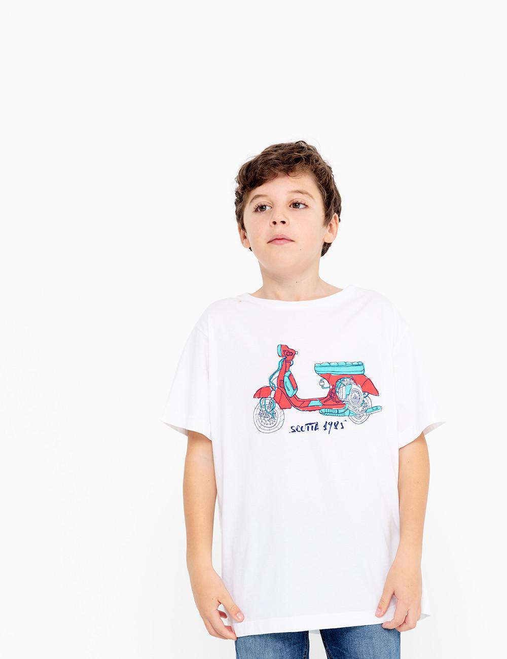 Camiseta Niño SCOTTA Moto