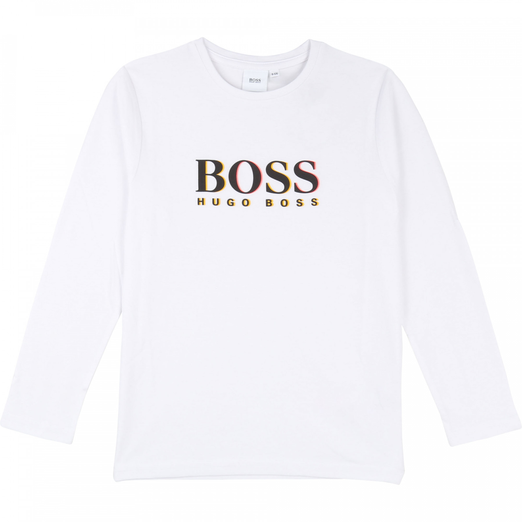 Camiseta Manga Larga HUGO BOSS Blanca