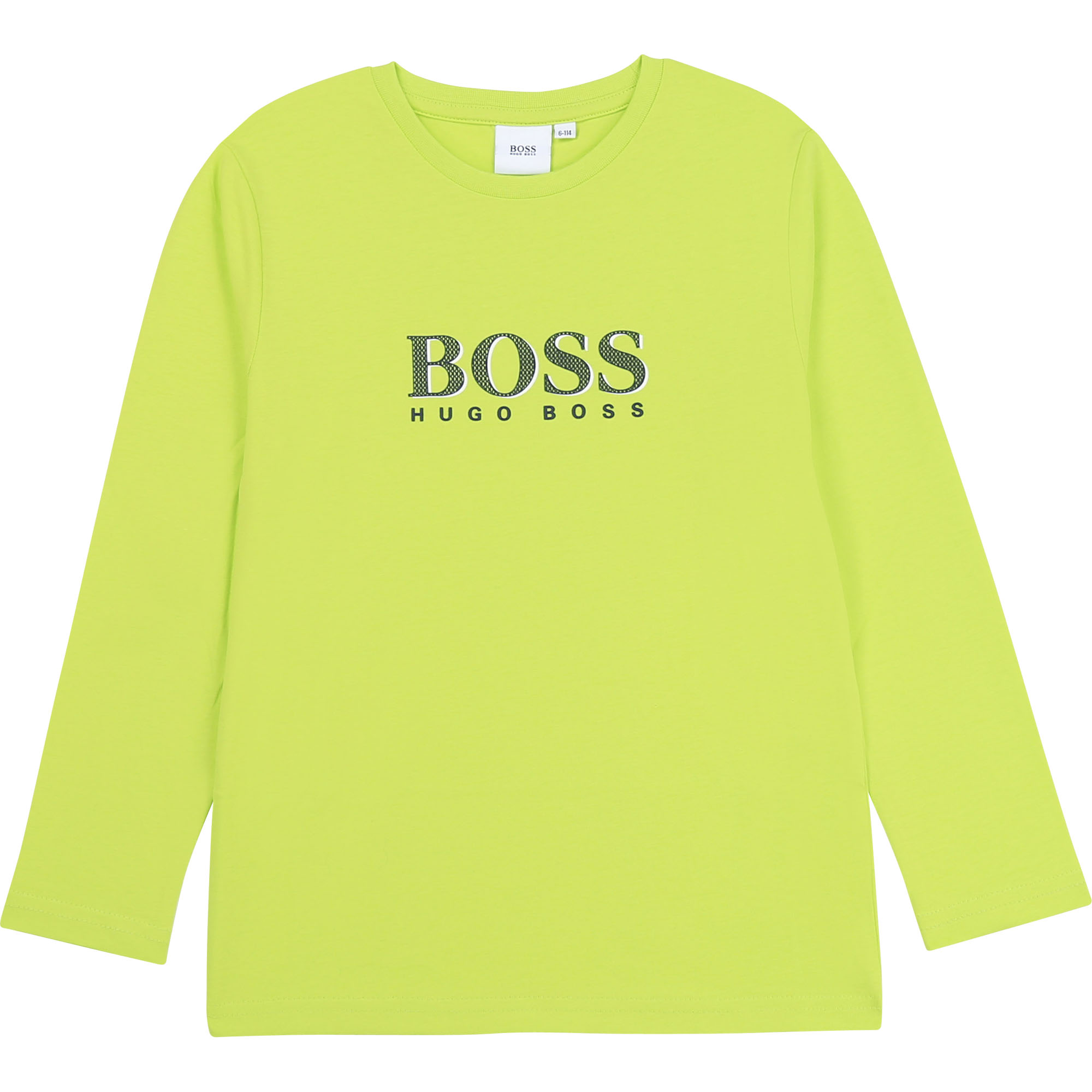 Camiseta Manga Larga HUGO BOSS Amarilla