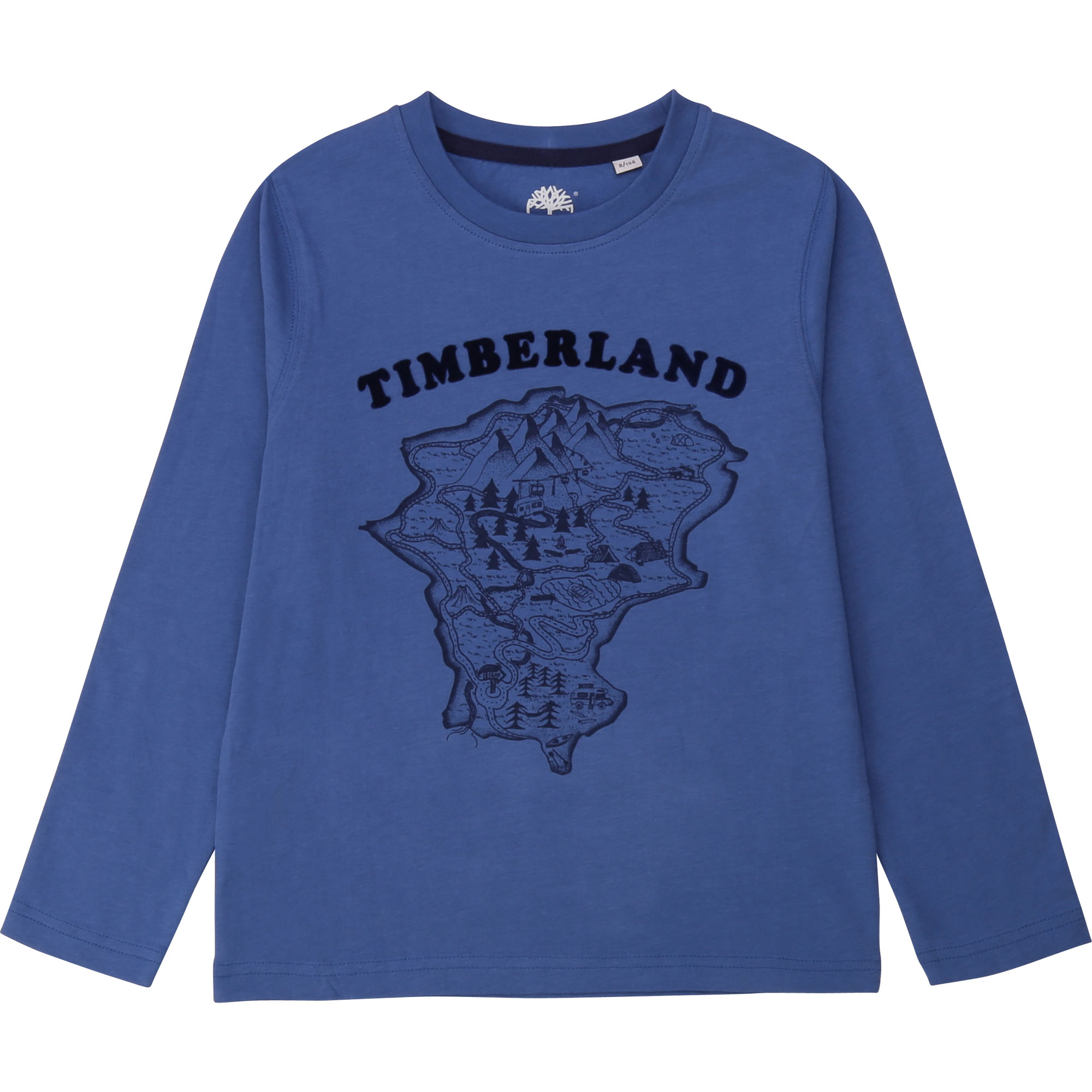 Camiseta Manga Larga TIMBERLAND Azul